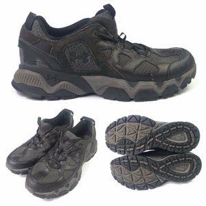 Under Armour Mens 9.5 EUR 43 Brown Hiking Shoes